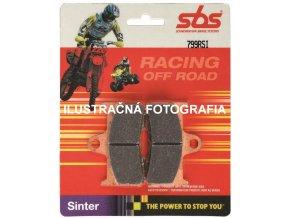 Zadné ZMES - RSI RACE Sinter Brzdové doštičky SBS BRAKE PADS